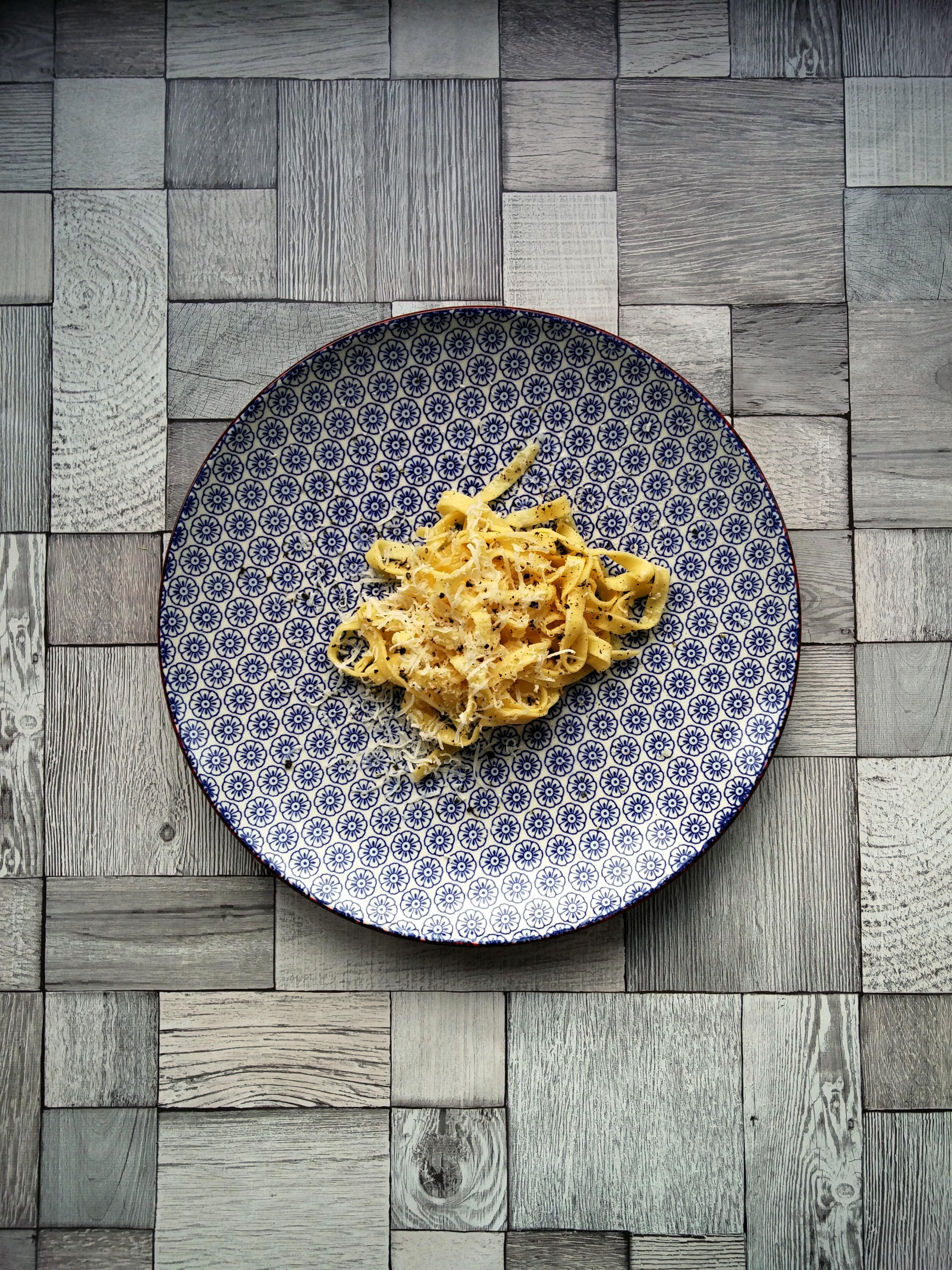 frische Pasta mit Parmesan