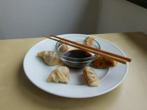 Potsticker mit Fleisch
